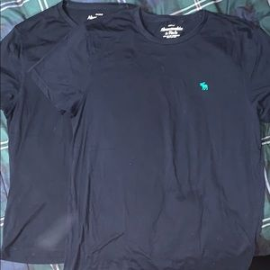 Two Large Abercrombie and Fitch muscle T shirts